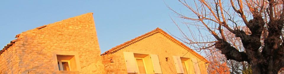 LE JAS DU BOEUF maison d'hôtes  B+B  en haute provence